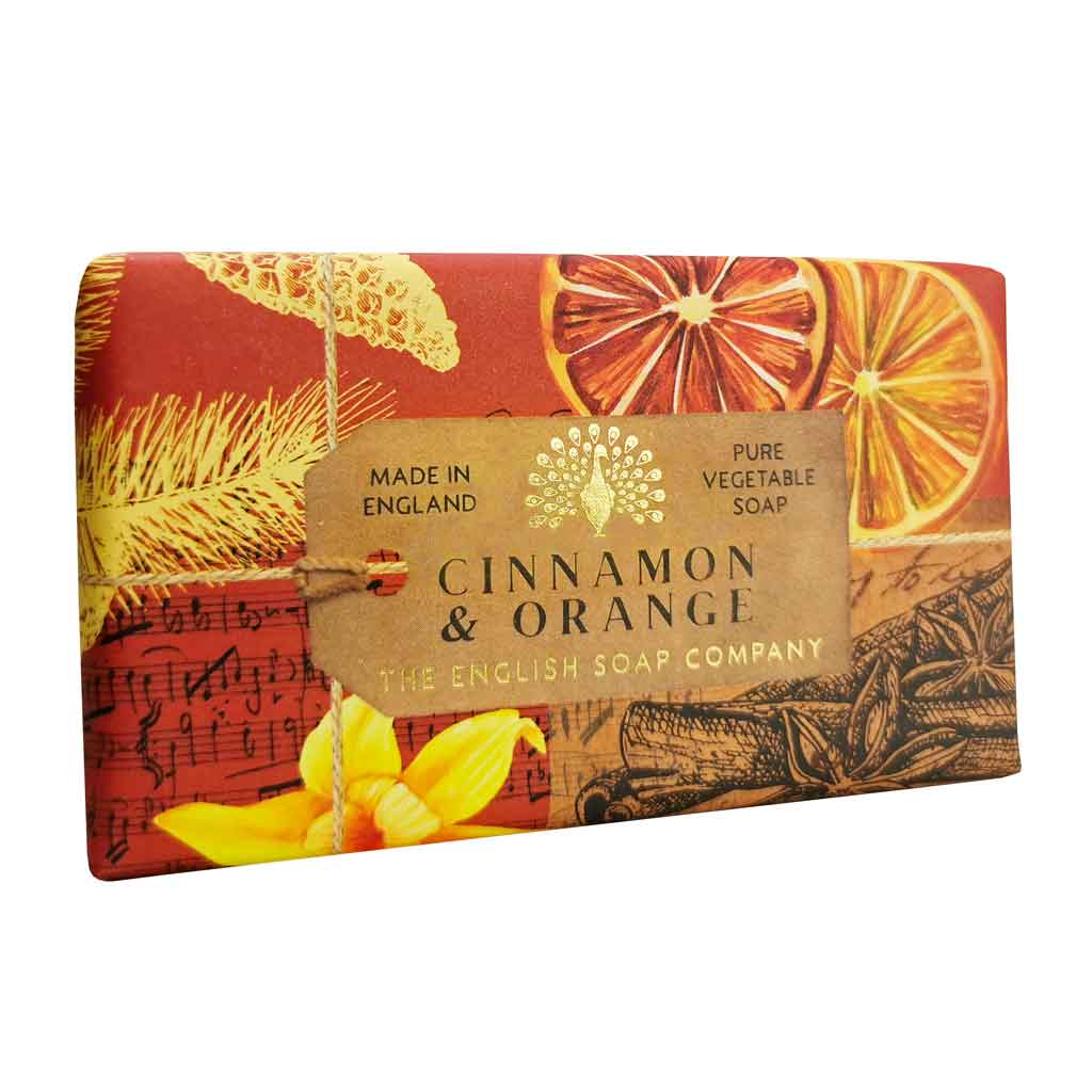 English Soap Company - Cinnamon & Orange