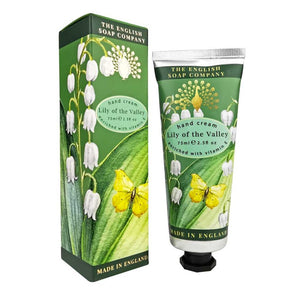 English Soap Company - Lily Of The Valley Hand Cream - Derbyshire Gift Centre