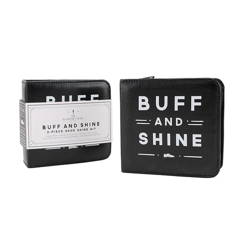 The Dapper Chap 'Buff & Shine' Shoe Shining Kit - Derbyshire Gift Centre