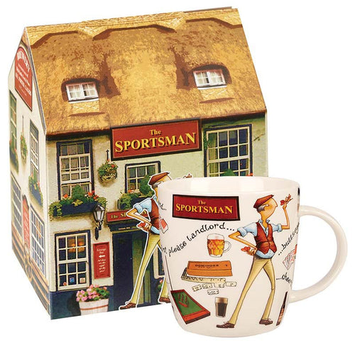 The Sportsman Fine China Mug - Derbyshire Gift Centre