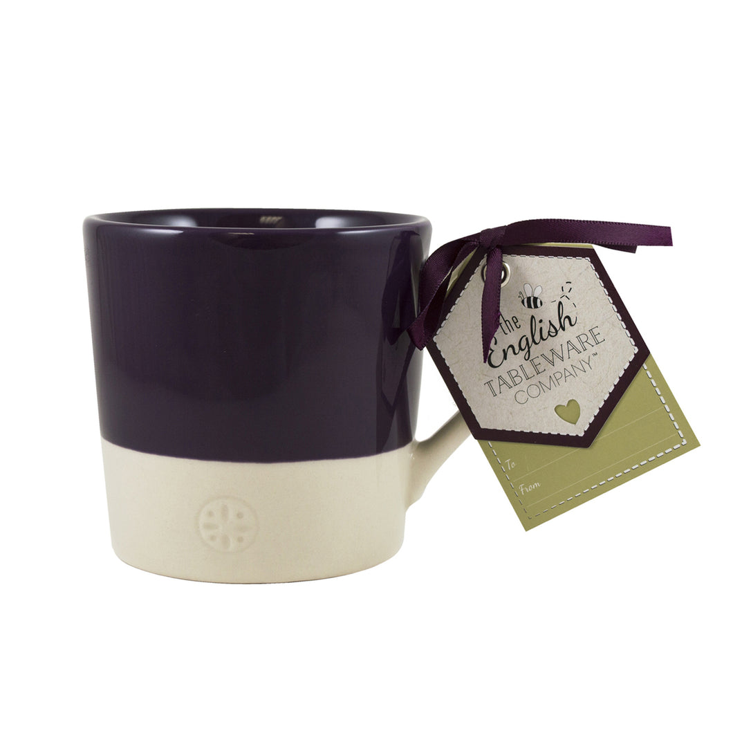 English Tableware Company Artisan Mug - Blackcurrant - Derbyshire Gift Centre