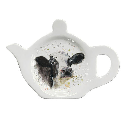 Bree Merryn Cow Teabag Tidy - Derbyshire Gift Centre