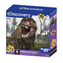 Load image into Gallery viewer, Prehistoric Era T-Rex 3D Effect Puzzle - 150 Pieces