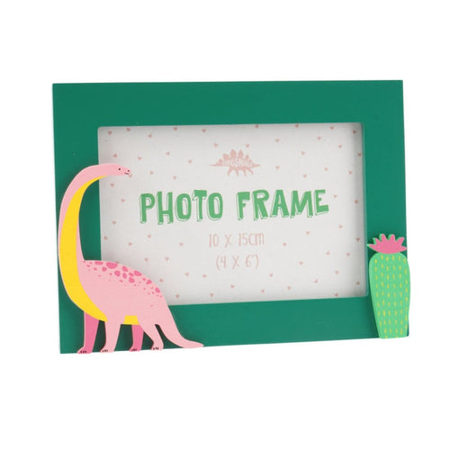 Dinosaur Picture Frame - Green - Derbyshire Gift Centre
