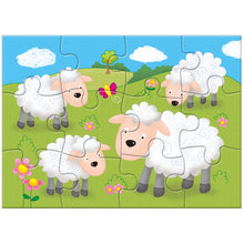 Load image into Gallery viewer, GALT 4 Puzzles in a Box - Farm - Derbyshire Gift Centre