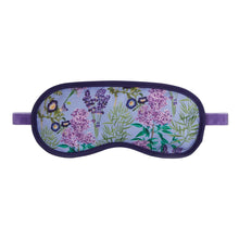 Load image into Gallery viewer, RHS Flower Blooms Lavender Garden Lavender Filled Eye Mask