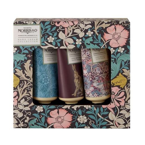 Morris & Co Shea Butter Hand Cream Collection - Set of 3 - Derbyshire Gift Centre