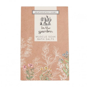Heathcote & Ivory 'In the Garden' - Muscle Soak Bath Salts - Derbyshire Gift Centre