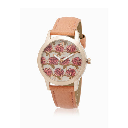 Anaii 'Lotus' Watch - Pink - Derbyshire Gift Centre