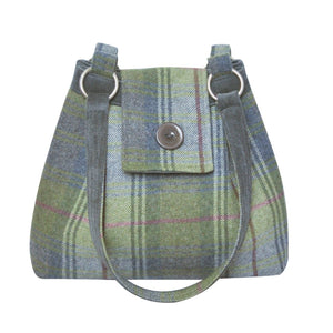 Earth Squared Tweed Ava Bag - Pebble - Derbyshire Gift Centre