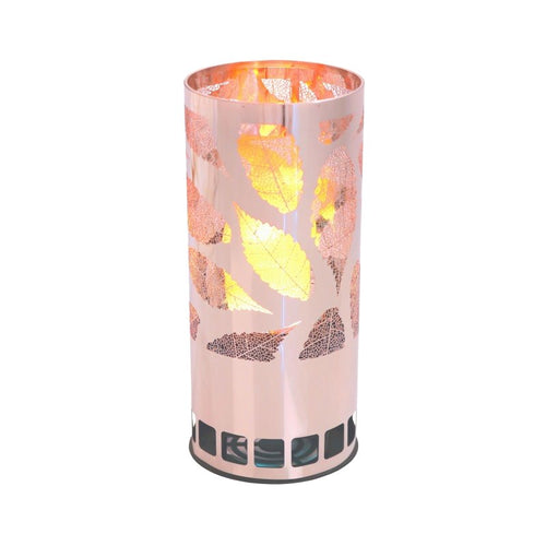 LUXA Leaf Brazier Silk Flamelight - Derbyshire Gift Centre
