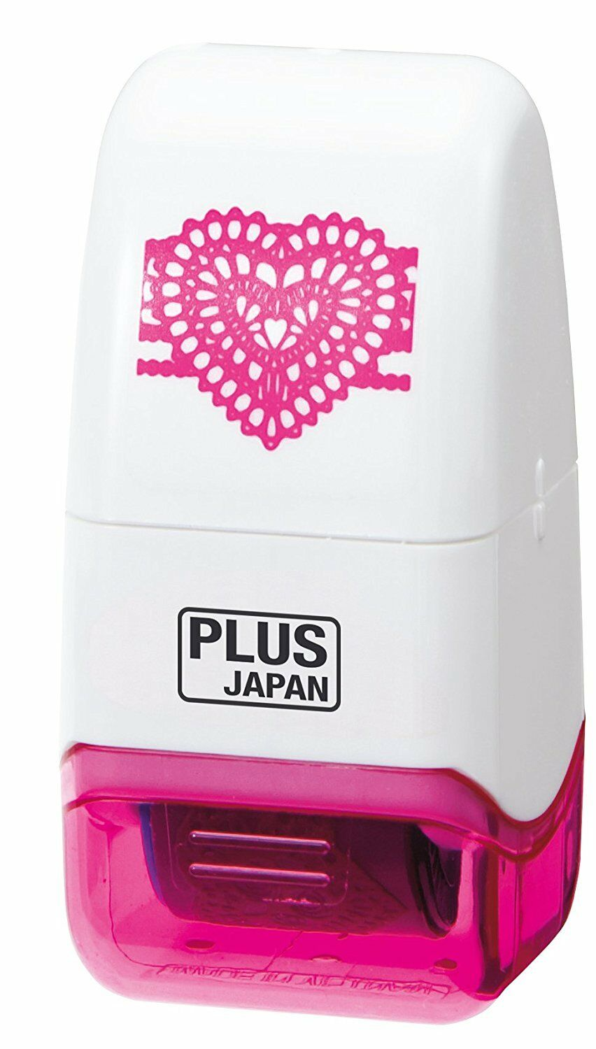 Plus Japan Decoration Roller - Hearts - Derbyshire Gift Centre