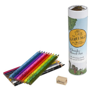 Gruffalo Chunky Pencil Set - Derbyshire Gift Centre