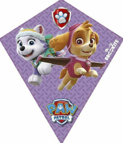Paw Patrol Diamond Kite - Purple - Derbyshire Gift Centre
