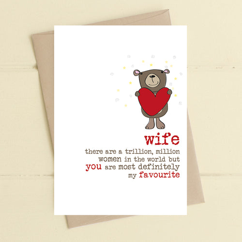 'You're My Favourite' Celebration Card - Derbyshire Gift Centre