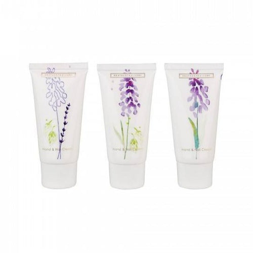 Lavender Fields Hand & Nail Cream - Set of 3 - Derbyshire Gift Centre