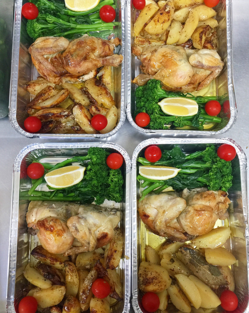 General Store & Cafe Berrima: Roast Chicken with White Wine Roasted Vegetables - Serves 6