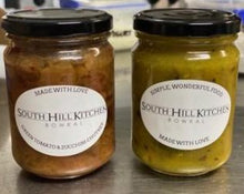 Load image into Gallery viewer, South Hill Kitchen: Home grown Green Tomato and Zucchini  Chutney - 250gr jar