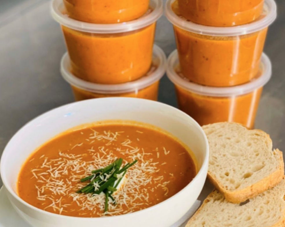 South Hill Kitchen: Roasted Butternut Pumpkin Soup -VG - Single serve