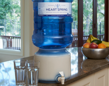 Load image into Gallery viewer, Natural Fresh Springwater - 5L glass bottle - return OPTIONAL