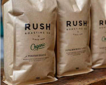 Load image into Gallery viewer, Rush Roasting Co.: PERU Hard Bean MCM Organic - 1kg