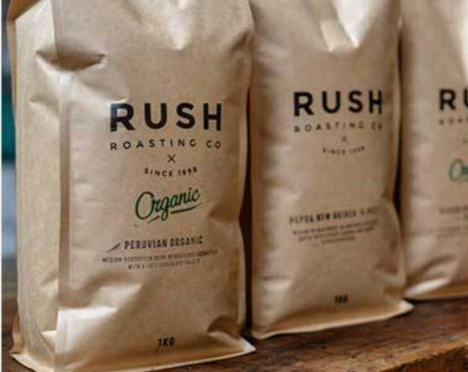 Rush Roasting Co.: PERU Hard Bean MCM Organic - 1kg