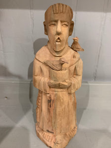 St. Francis of Assisi - Hand Carved Wood Statue