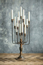 Load image into Gallery viewer, Candelabra  - Iron - Black