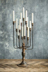 Candelabra  - Iron - Black