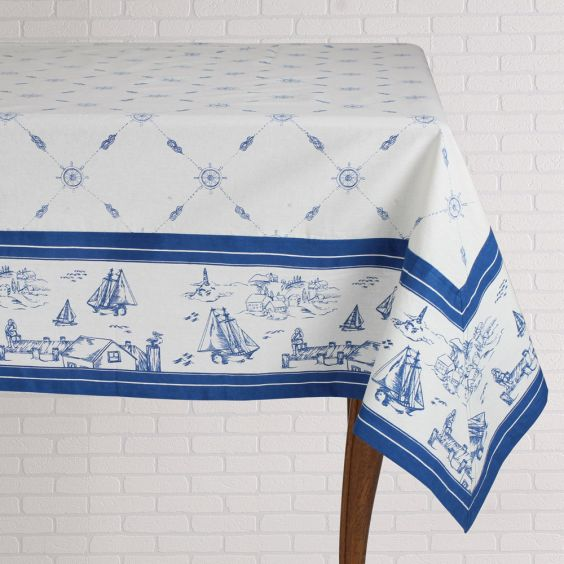 Tablecloth - Sailboats  60