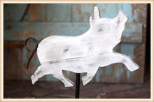 Load image into Gallery viewer, Wood Pig on Stand