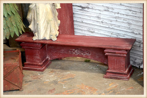 Red Shelf for Mantel or Wall