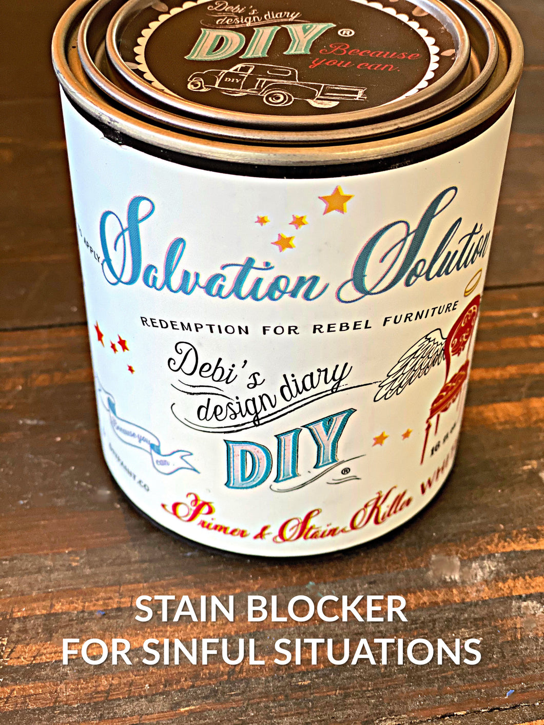 DIY Wood Stain Blocker - Salvation Solution
