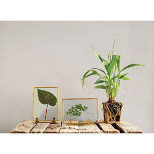 "Frame - Brass 7"" with stand"