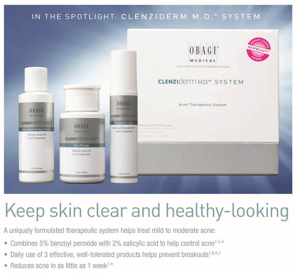 Obagi Clenziderm M.D. Starter Set for Normal to Oily