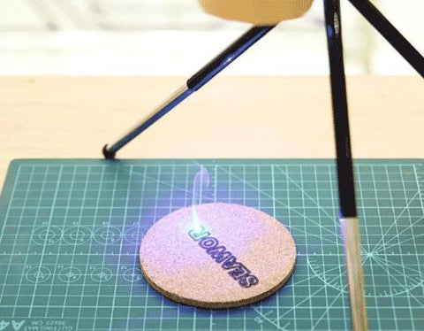 DIY MINI HANDHELD DESKTOP LASER PRINTING