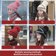 Tiamino™ 3PCS Women Winter Scarf Set