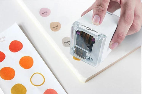 3D smart printing personalized DIY stickers(Random Color)
