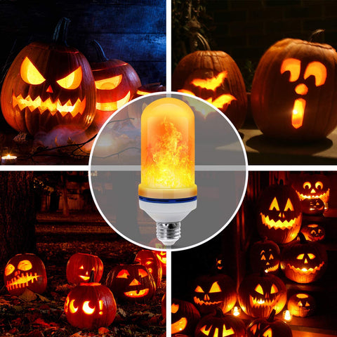 🔥BUY 1 FREE 1🔥LED Gravity Effect Fire Light Bulbs for Home Decor (Halloween Special)