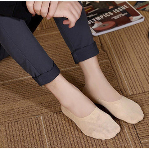Breathable Ice Silk Socks (Set of 3)【$10 off when you spend $100 (Input code: D10)】