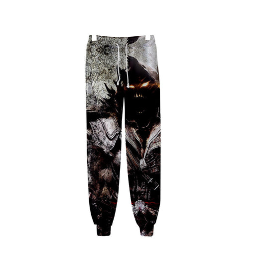 Skull  Graphic Hero Gothic Jogger