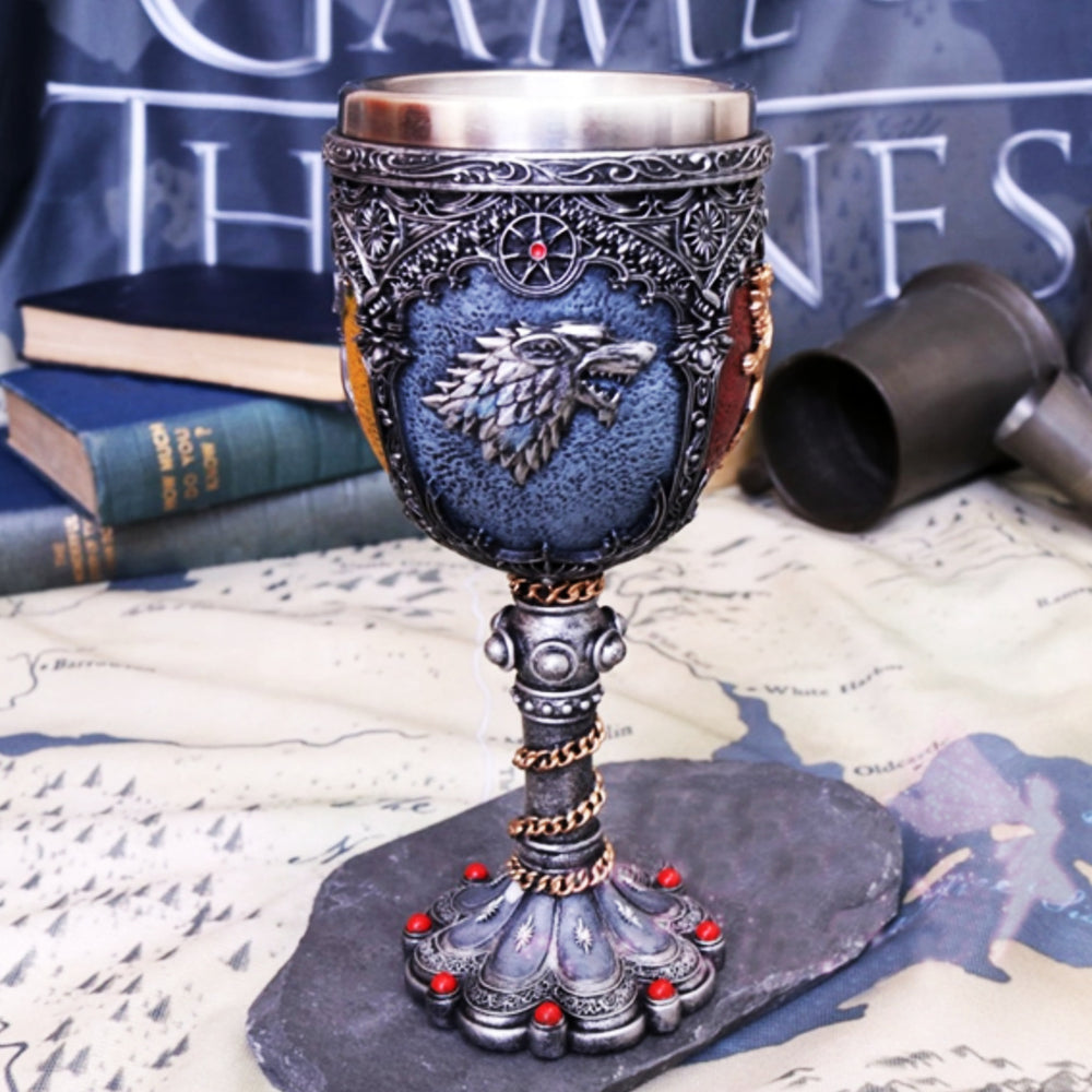 GOT Game of Thrones Stainless Steel Cup Medieval Wine Cup