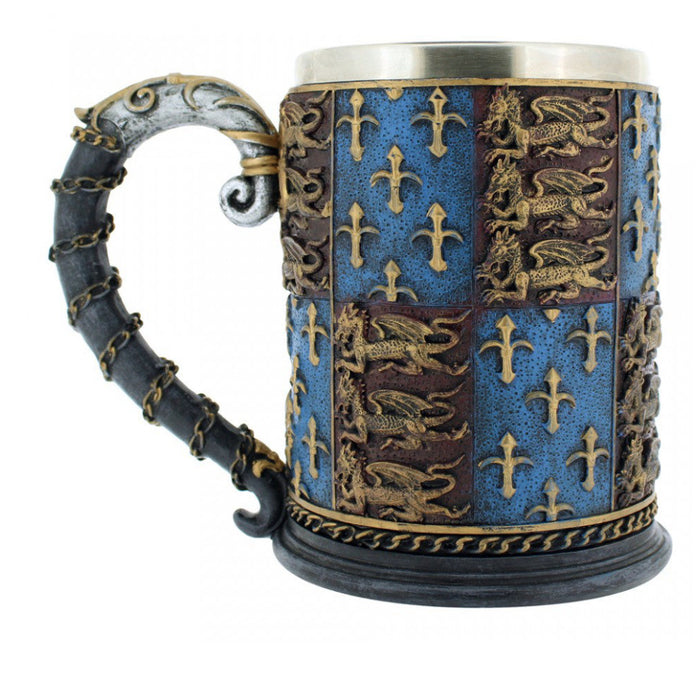 Game of Thrones Medieval Wine Cup Edward III Royal Golden Lion Cup