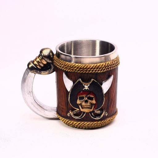 Crossbones Pirate Hilt Reins Beer Mug