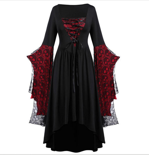 Skull Medieval Goth Mythic Rebirth Costume Dress