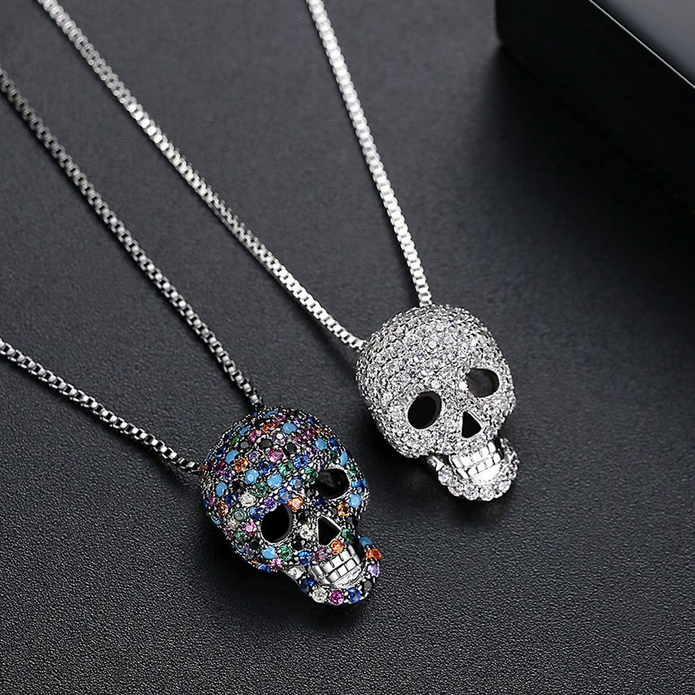 Sugar Skull Death Of The Day Pendant