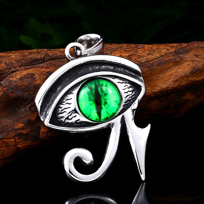 Eye of Horus film and television personality punk pendant