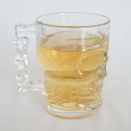 500ml skull handle glass cup