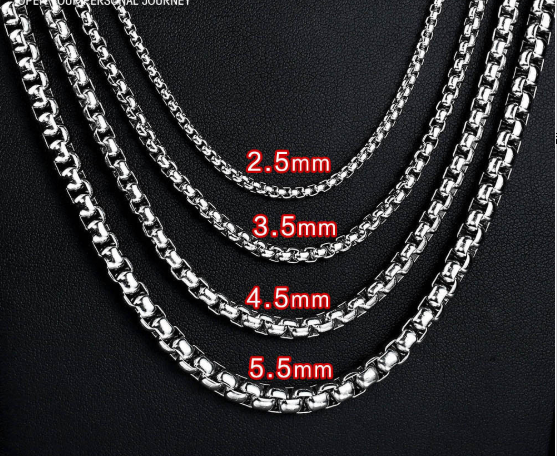 Men's personality fashion necklace
