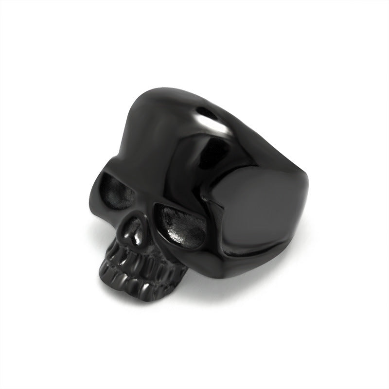 Retro skull personality domineering men's ring